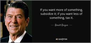 Ronald reagan tax quote