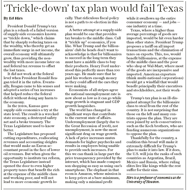 Houston Chronicle 5-23-2017